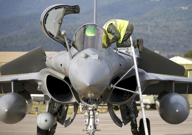 Break-in reported at IAF Rafale facility in France
