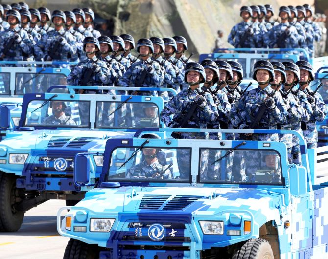 Military parades Trump might want to copy