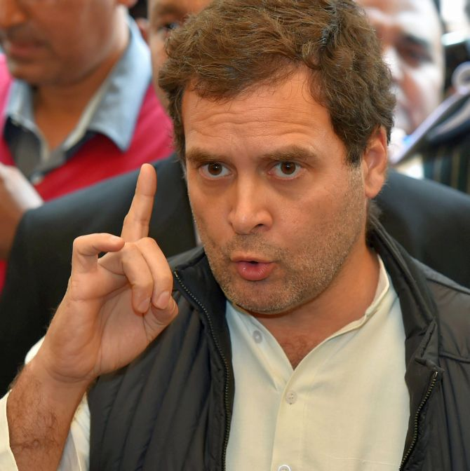 Rahul calls out Sitharaman for U-turn on Rafale deal