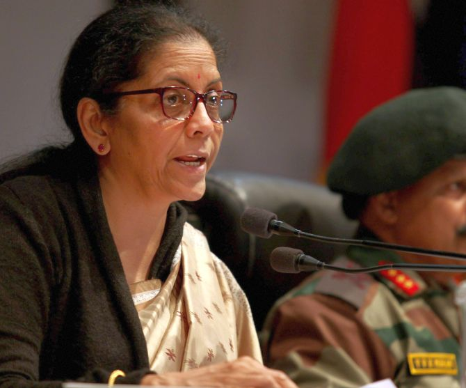 Ready for any unforeseen situation in Doklam: Sitharaman