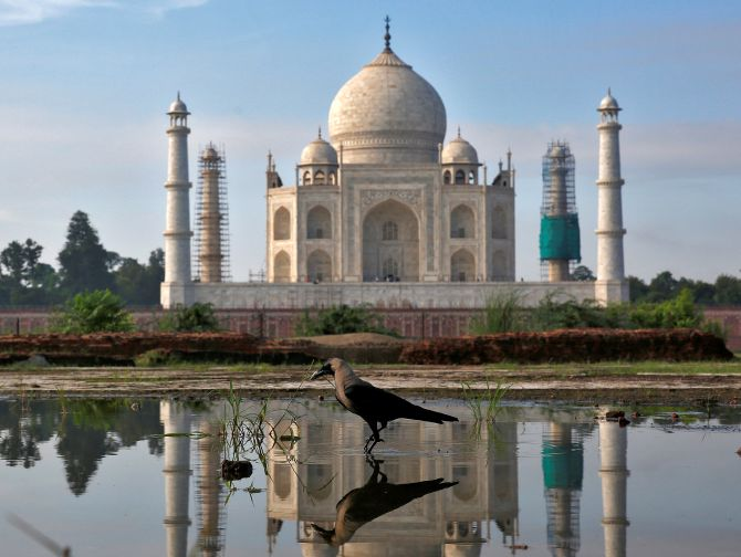 Taj Mahal won't reopen today owing to COVID-19 spread