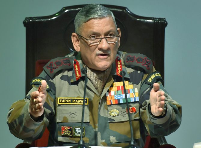 India to have separate theatre command for J-K: Rawat