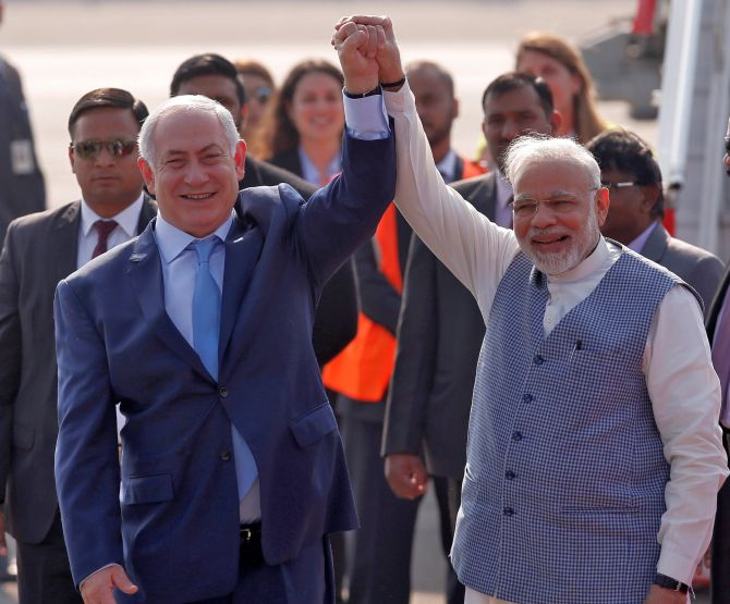 Netanyahu puts off trip to India, 2nd time this year