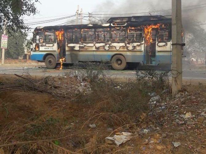 38 held for anti-Padmaavat violence in Gurugram