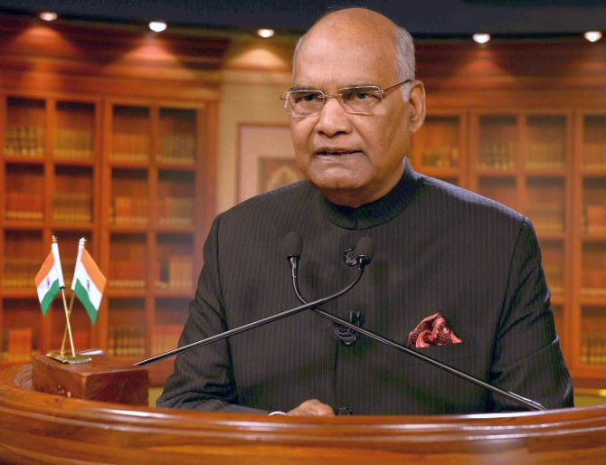 Disagree with other views but don't mock citizen's dignity: Prez Kovind