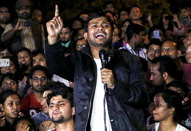 India News - Latest World & Political News - Current News Headlines in India - Kanhaiya raised anti-India slogans to incite hatred against govt, claims police