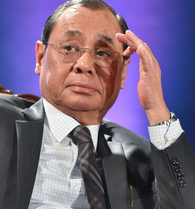 Why no questions asked from 'activist judges': Gogoi