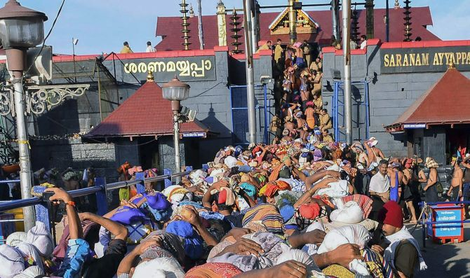 India News - Latest World & Political News - Current News Headlines in India - 'Won't come back till I enter Sabarimala'