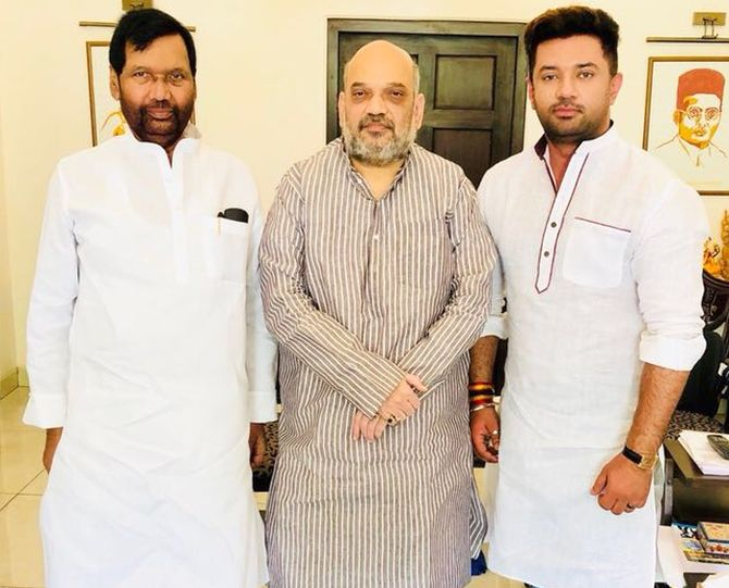 Paswan Retires But Now Worries His Family Is In The Fray Rediff Com India News
