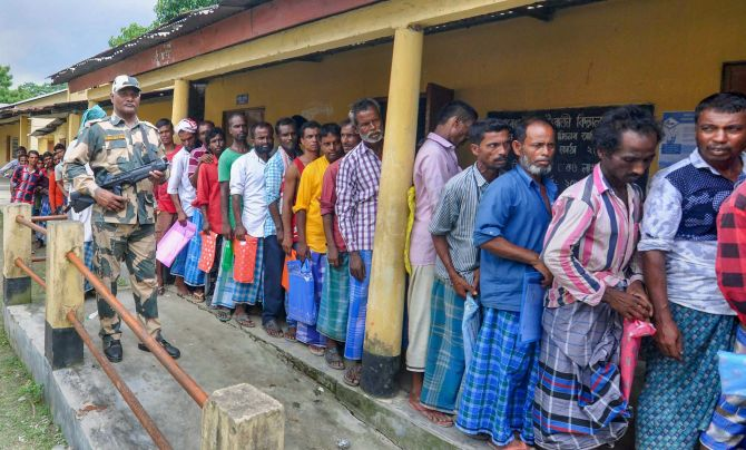 Exclusion from NRC doesn't make one foreigner: Govt
