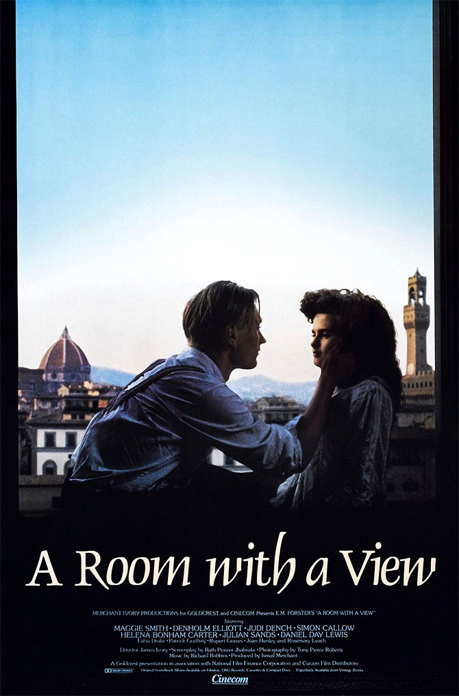 Ruth Prawer Jhabvala wrote the screenplay of A Room with a View