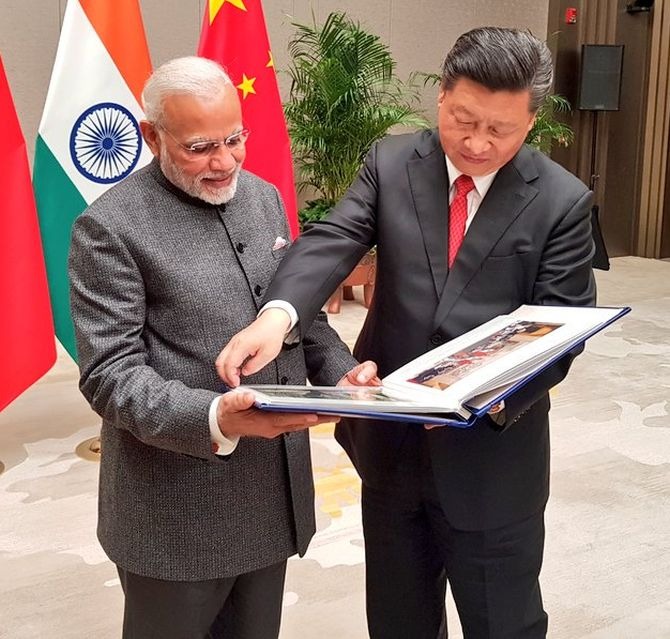 'China's goal is to limit any defiance from India'