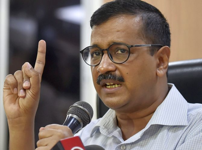 What Kejriwal said after losing on all 7 Delhi seats