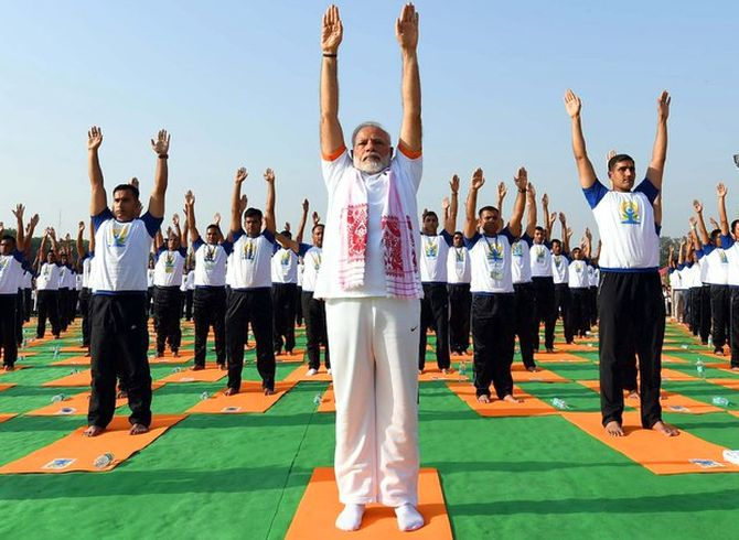 Yoga one of the most powerful unifying forces in strife-torn world: Modi