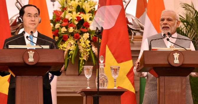 With an eye on China, India-Vietnam vow to work for prosperous Indo-Pacific
