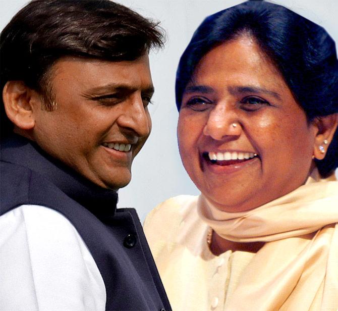 SP-BSP friends in UP, foes in Karnataka