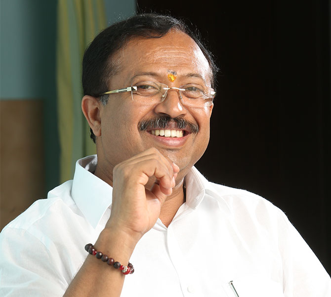 V Muraleedharan, the Bharatiya Janata Party leader elected to the Rajya Sabha from Maharashtra