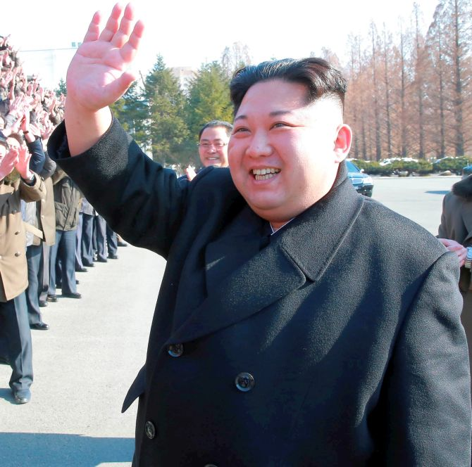 North Korea's Kim Jong-un makes unprecedented trip to China