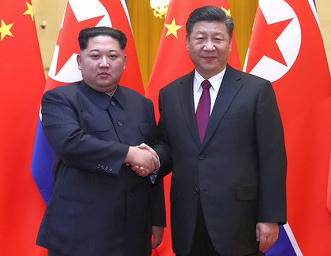 What did Kim tell Xi?