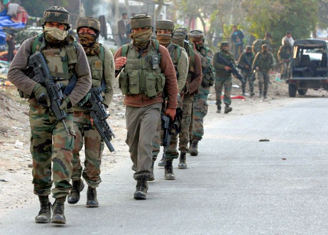 India News - Latest World & Political News - Current News Headlines in India - 2 terrorists killed in Shopian encounter