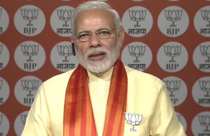 It's 'women first' for BJP and my government: Modi