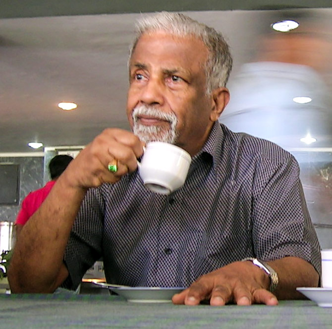 Professor E C G Sudarshan, the legendary physicist. Photograph: Kind courtesy Tabish/Wikipedia Commons