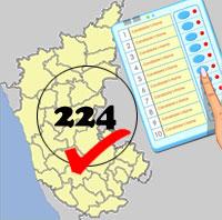MAPPED: Karnataka verdict 2018, constituency-wise