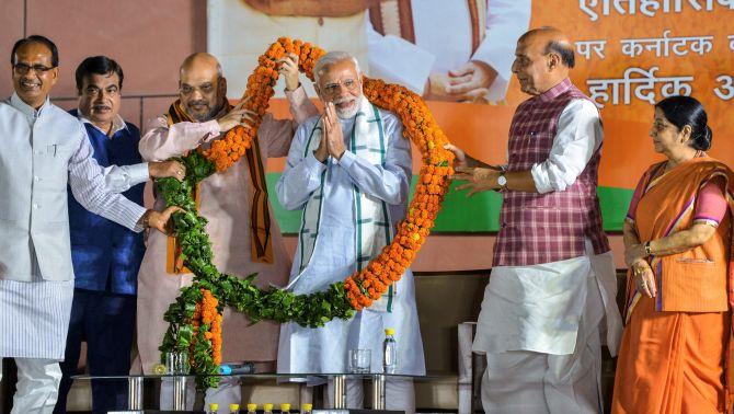 Won't let Karnataka's development journey to be trampled on: Modi