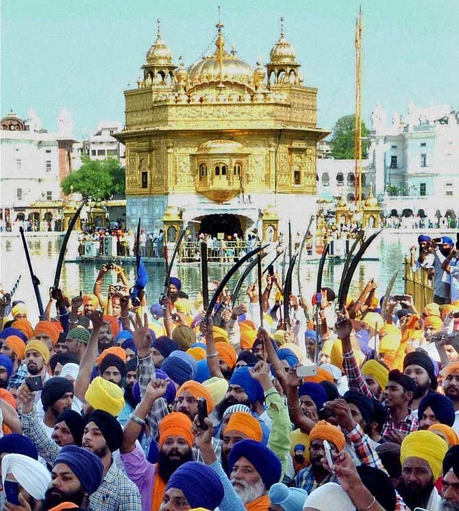 Protests against Operation Bluestar