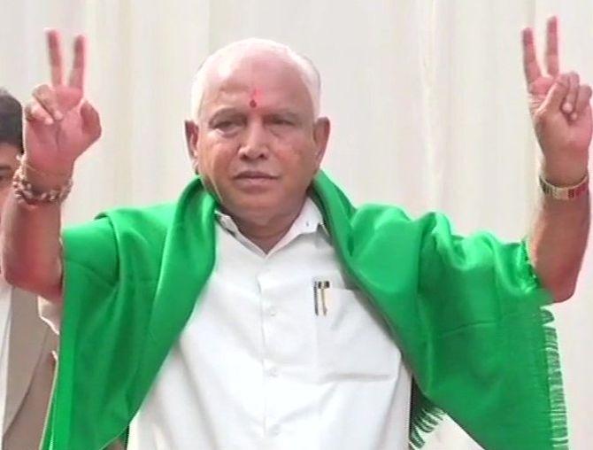 B S Yeddyurappa: From clerk to CM