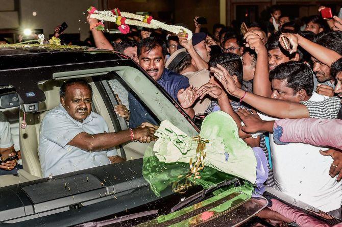 Kumaraswamy to face floor test on Friday; BJP fields nominee for Speaker