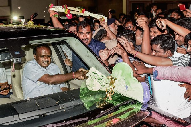 No 'power-sharing formula' arrived at yet: Kumaraswamy