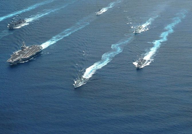 US kicks out China from major naval exercise over 'militarisation' of SCS