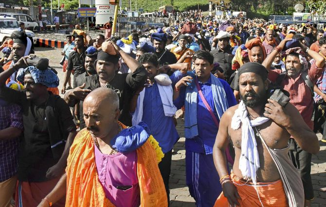 Unfortunate: Activists on Sabarimala decision