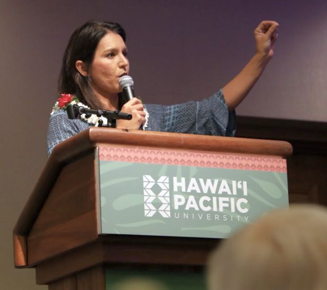 Gabbard sues Clinton for defamation, seeks $50 million