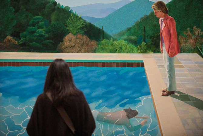 India News - Latest World & Political News - Current News Headlines in India - David Hockney painting sells for $90.3 million, a record for a living artist