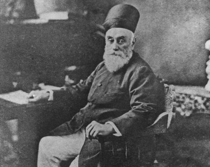 Jamsetji Nusserwanji Tata, founder of the Tata Group, circa 1890