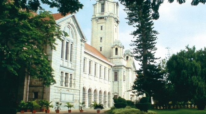 Main building of the Indian Institute of Science