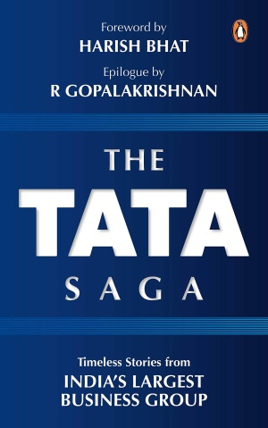 Book cover: The Tata Saga