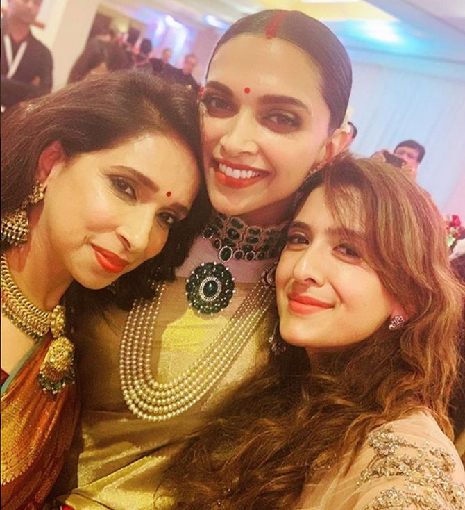 Deepika with her mother Ujjala Padukone