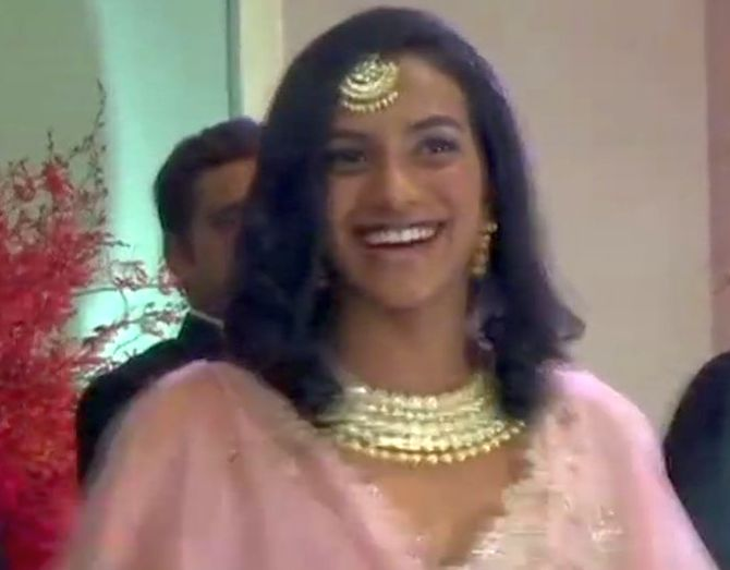 P V Sindhu at Deep-Veer's reception