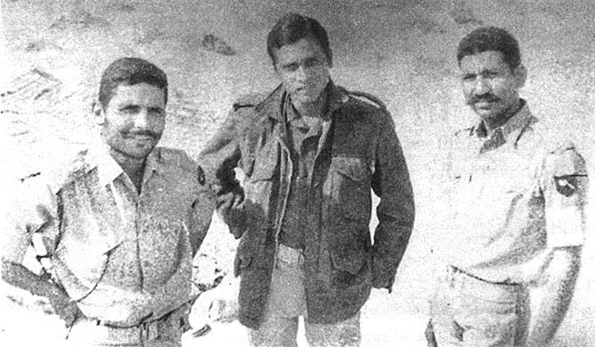 During the Battle of Longewala in '71 war.