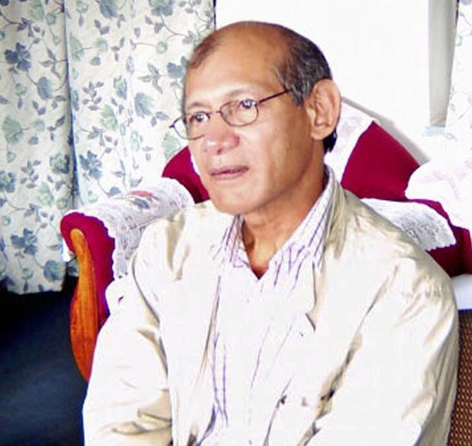 Charles Sobhraj is seen in this Nepali police handout released September 20, 2003.