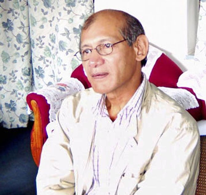 Charles Sobhraj is seen in this Nepali police handout released September 20, 2003.