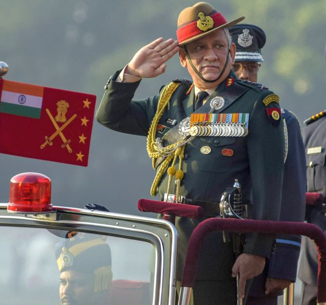 Pak can't stay together with India as long as it is an Islamic state: Gen Rawat
