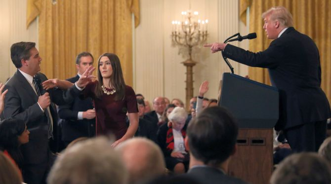 US judge restores White House access for CNN's Jim Acosta