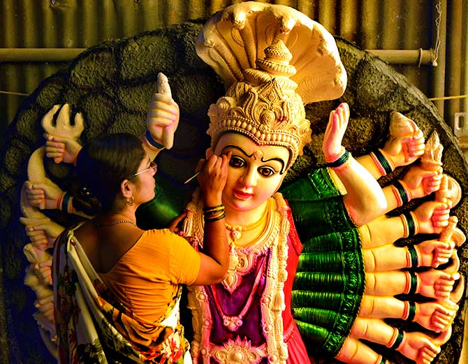 PHOTOS: The many avataars of Durga