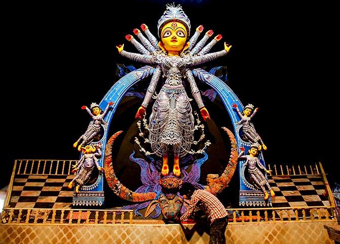 In Durga's image