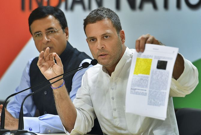 Rafale row: Rahul says PM is corrupt; RM in Paris rejects charges