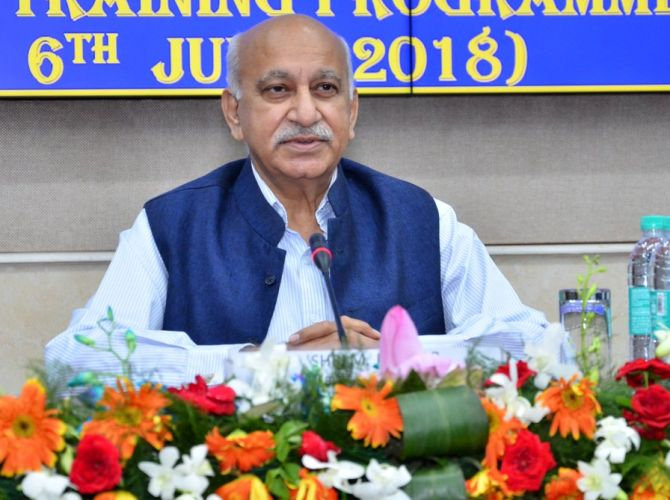 India News - Latest World & Political News - Current News Headlines in India - Storm erupts over MEA booklet with MJ Akbar